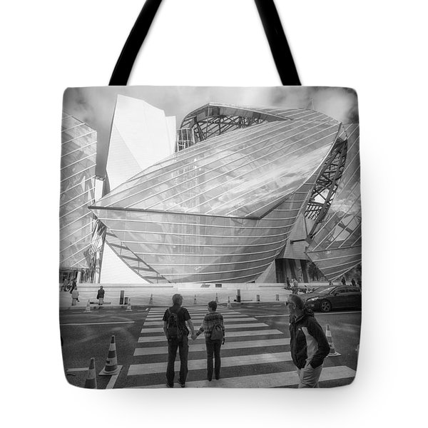 Fondation Louis Vuitton Paris I Tote Bag by Jack Torcello
