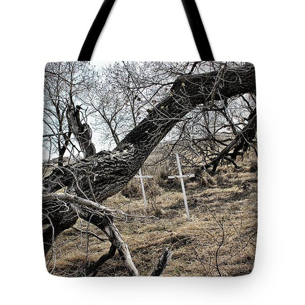 Fone Hill Cemetery  Tote Bag by Ryan Crouse