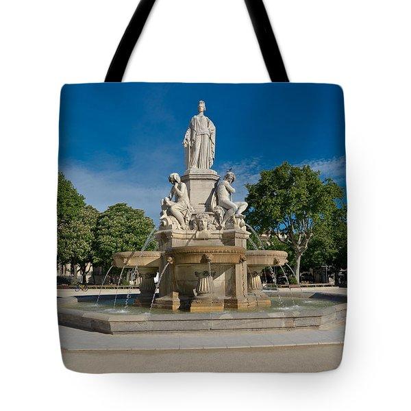 Fontaine De Pradier Tote Bag