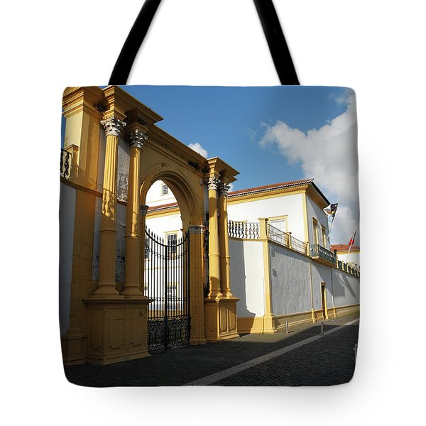 Fonte Bela Palace - Azores Tote Bag by Gaspar Avila
