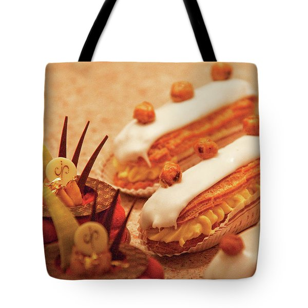 Food - Cake - Little Cakes Tote Bag by Mike Savad
