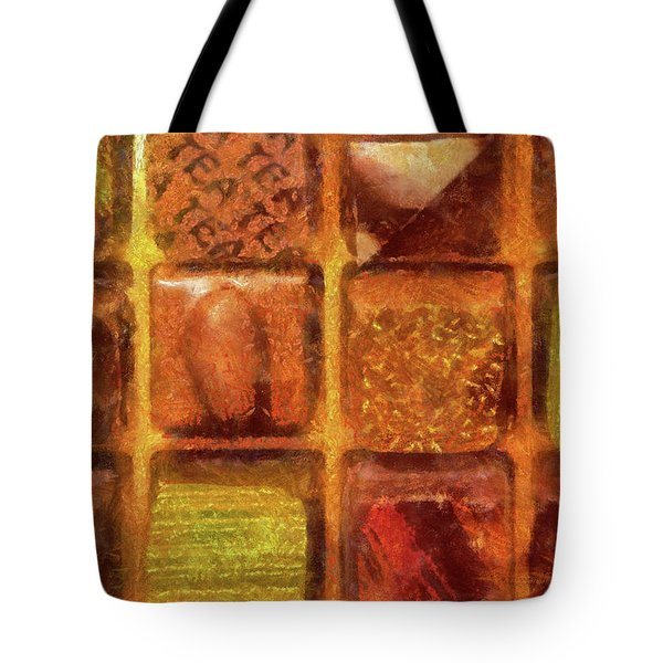 Food - Candy - Excellent Chocolates Tote Bag by Mike Savad