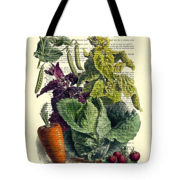 Food Art Tote Bag