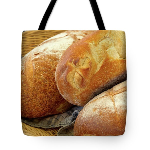 Food - Bread - Just Loafing Around Tote Bag by Mike Savad