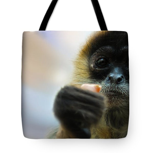 Tote Bag featuring the photograph Food Sharing by Christine Sponchia