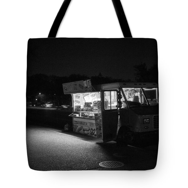 Tote Bag featuring the photograph Food Truck, Late Hours by Ross Henton