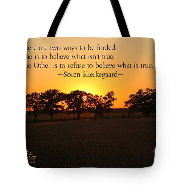 Tote Bag featuring the photograph Fooled by Beauty For God