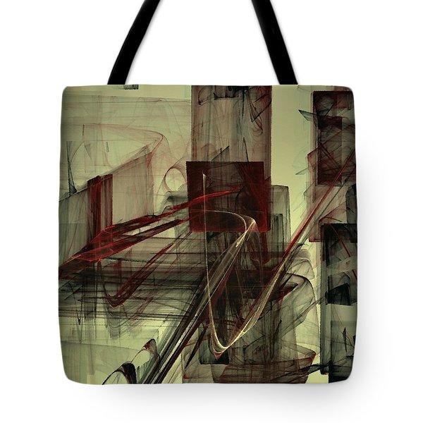 Fools Mate Tote Bag by NirvanaBlues