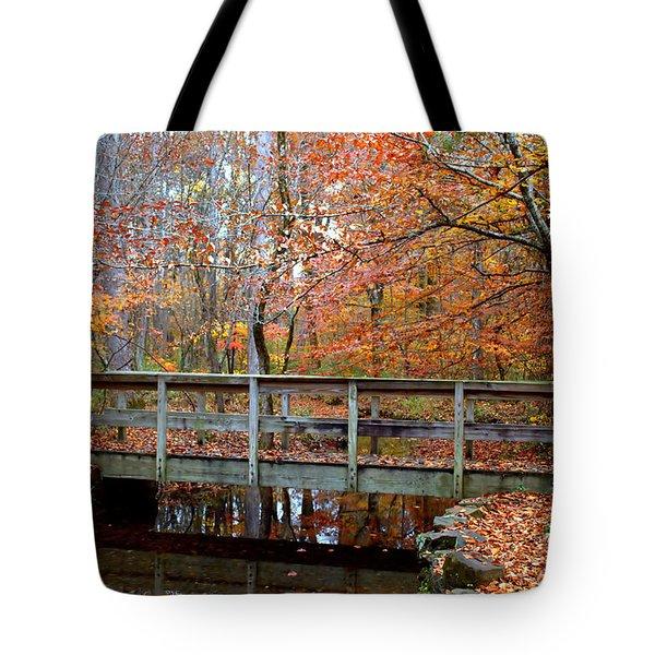 Foot Bridge Tote Bag