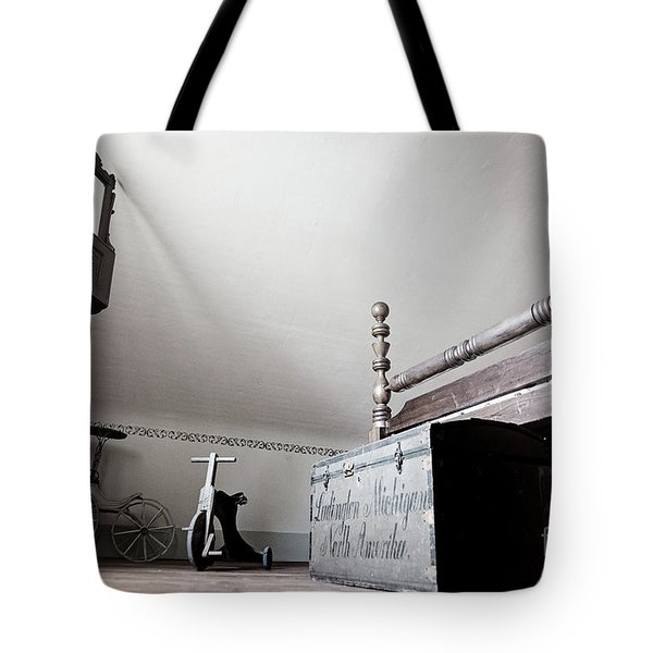 Foot Of The Bed Tote Bag