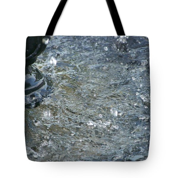 Foot Of The Fountain Tote Bag