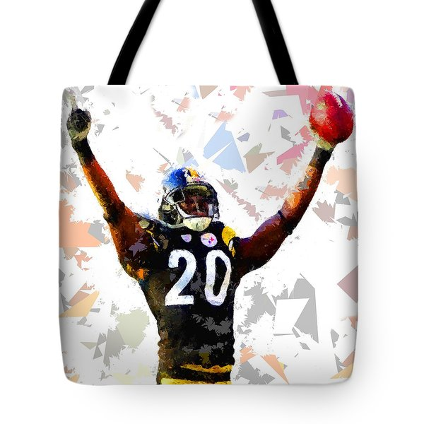 Tote Bag featuring the painting Football 113 by Movie Poster Prints