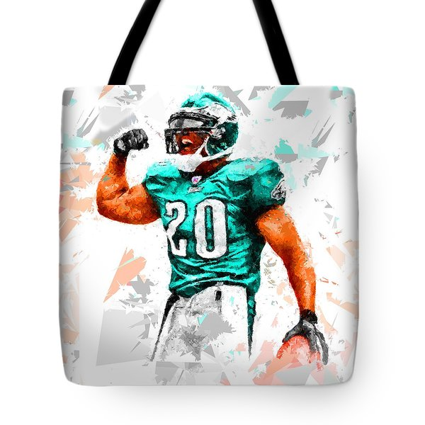 Tote Bag featuring the painting Football 115 by Movie Poster Prints