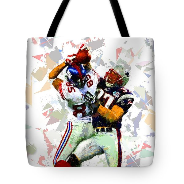 Tote Bag featuring the painting Football 116 by Movie Poster Prints