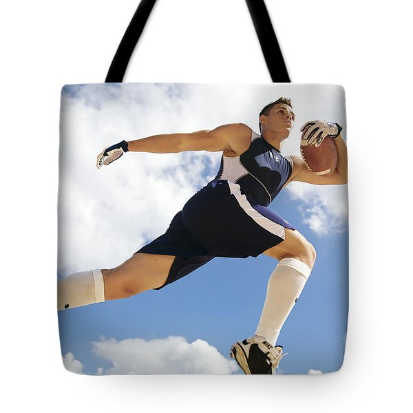 Football Athlete II Tote Bag by Kicka Witte - Printscapes