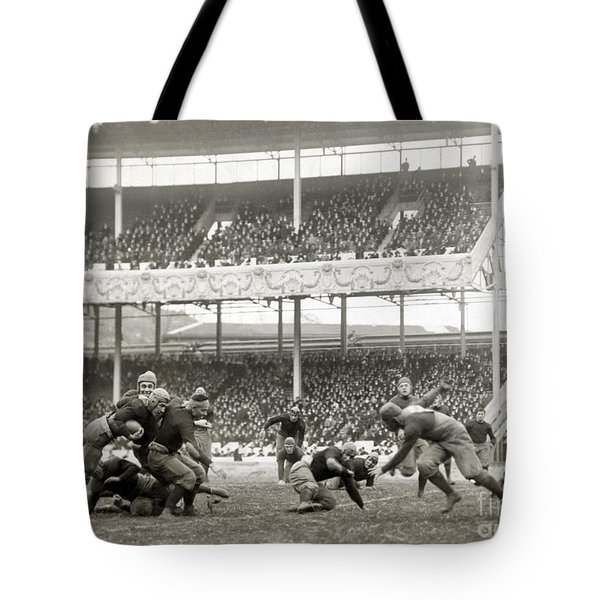 Football Game, 1916 Tote Bag by Granger