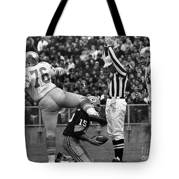 Football Game, 1965 Tote Bag by Granger