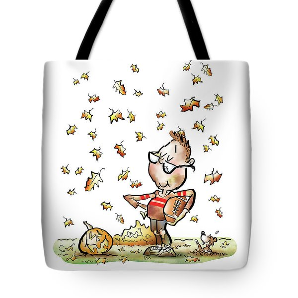 Football Hero Tote Bag