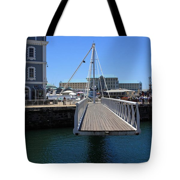 Footbridge  Tote Bag by Aidan Moran