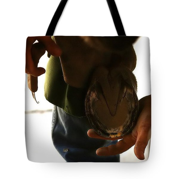 Tote Bag featuring the photograph Footcare by Angela Rath