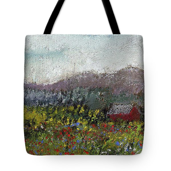 Foothills Meadow Tote Bag by David Patterson
