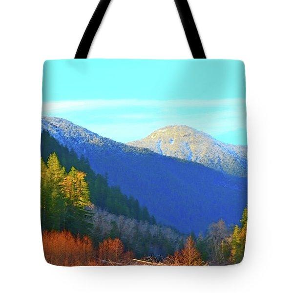 Foothills Tote Bag
