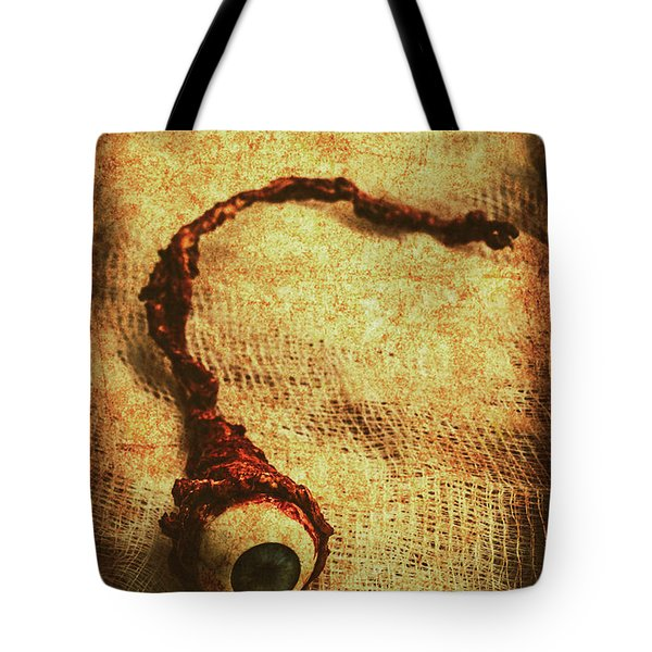 For A Bandaged Iris Tote Bag