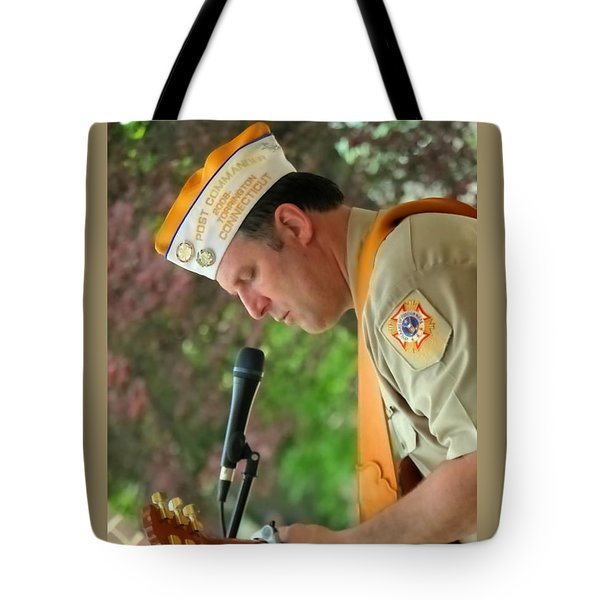 Tote Bag featuring the photograph For Arlington by Jesse Ciazza