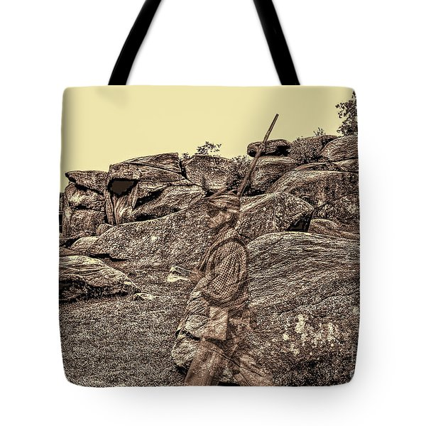 For Ever Watch At Devils Den Tote Bag by Tommy Anderson