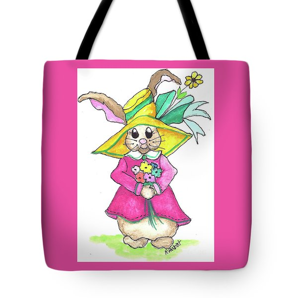 Tote Bag featuring the painting For Granny by Rosemary Aubut