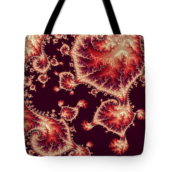 Tote Bag featuring the digital art For Love Of Autumn by Susan Maxwell Schmidt