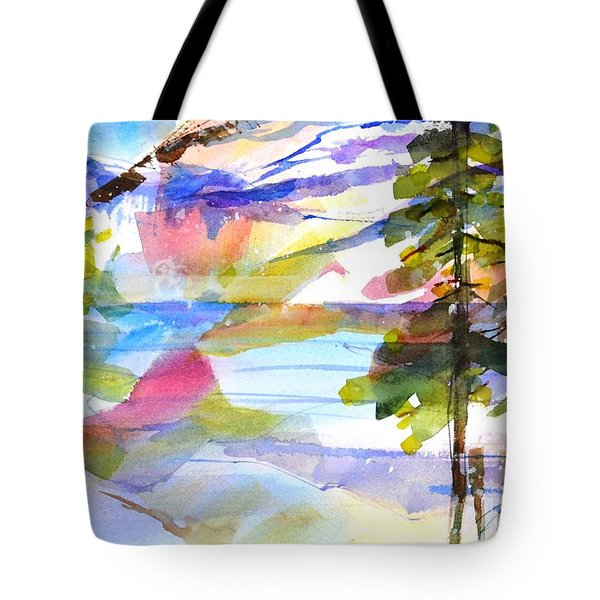 For Love Of Winter #1 Tote Bag by Betty M M Wong