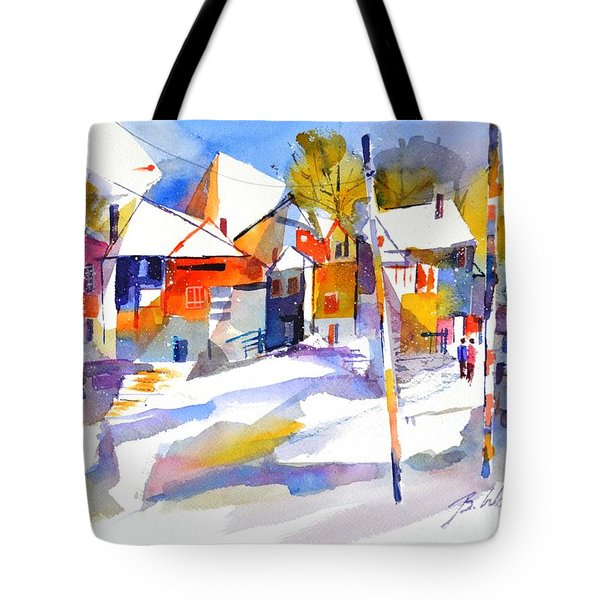 For Love Of Winter #2 Tote Bag by Betty M M Wong