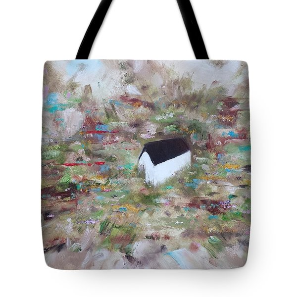 Tote Bag featuring the painting For Sheila by Judith Rhue