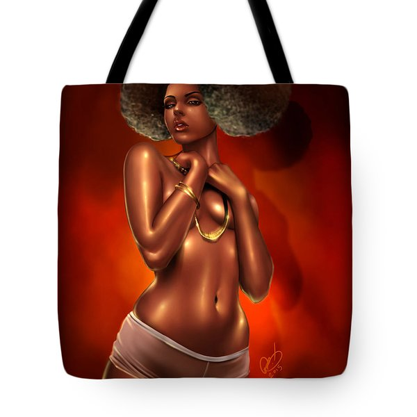 For The Funk Tote Bag by Pete Tapang