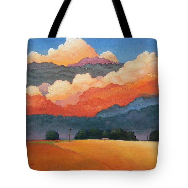 For The Love Of Clouds Tote Bag