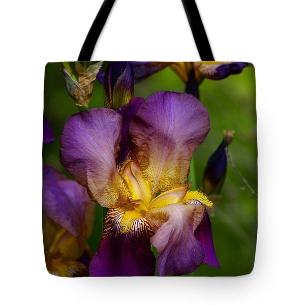 For The Love Of Iris Tote Bag