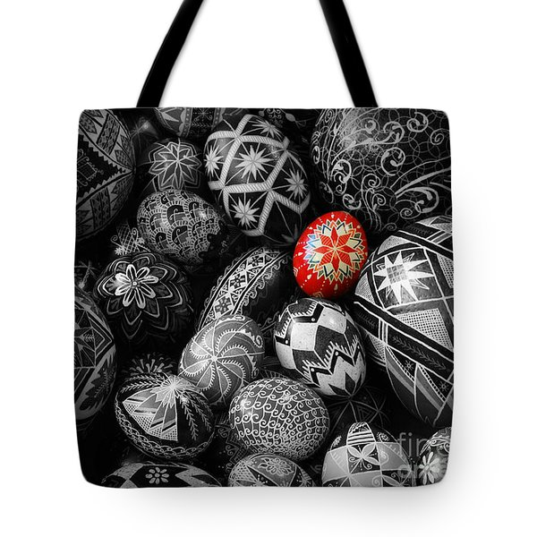 For The Love Of Pysanky Tote Bag