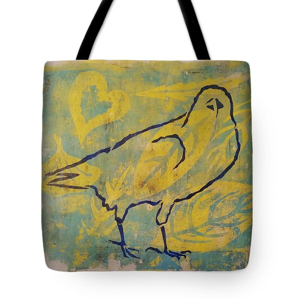 For The Love Of Raven Tote Bag