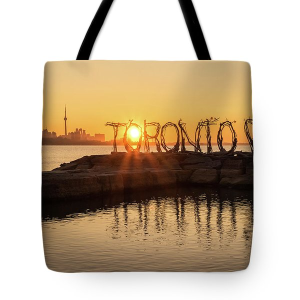 For The Love Of Toronto Tote Bag