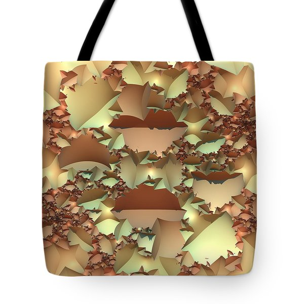 Tote Bag featuring the digital art For Your Wall by Lyle Hatch
