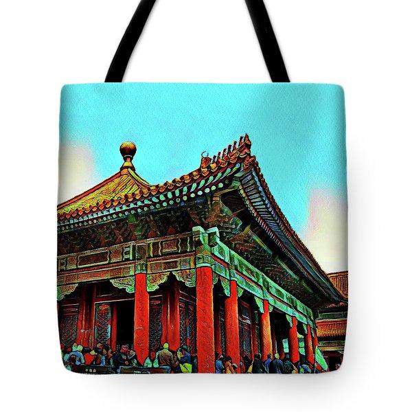 Forbidden City - Beijing China Tote Bag