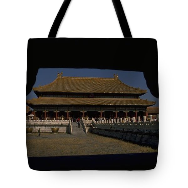 Forbidden City, Beijing Tote Bag by Travel Pics