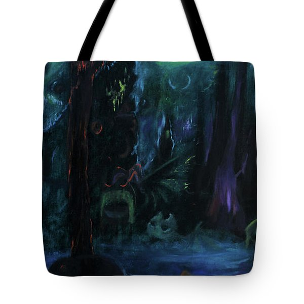 Forbidden Forest Tote Bag by Christophe Ennis
