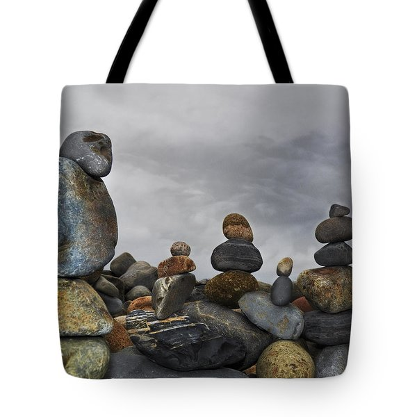 Tote Bag featuring the digital art Force Of Adherence by Rhonda Strickland