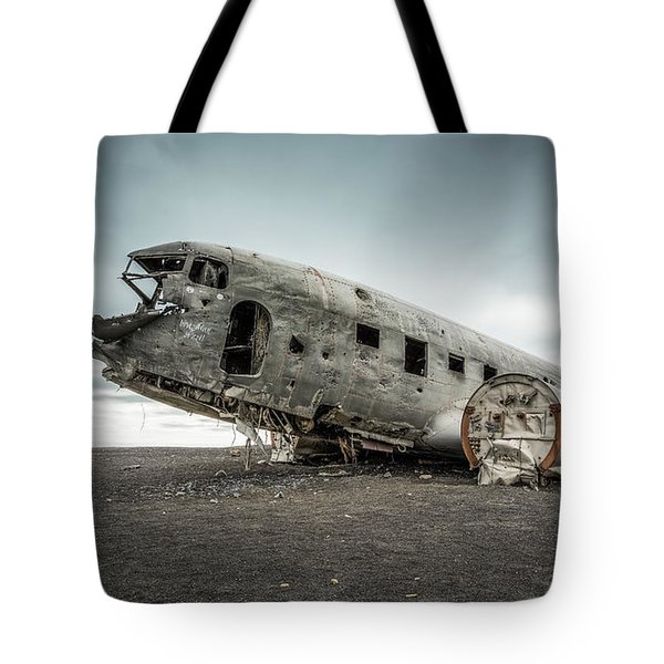 Forced Landing 2 Tote Bag