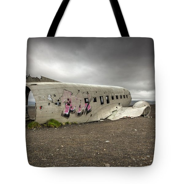 Forced Landing Tote Bag