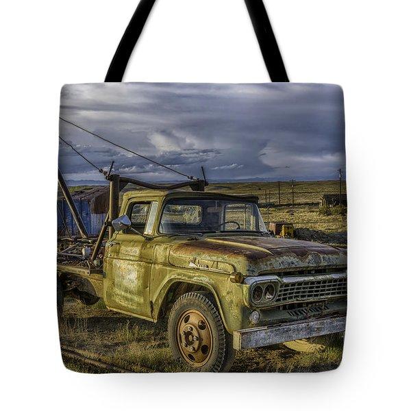 Ford 1958 - F-series Pickup  Tote Bag