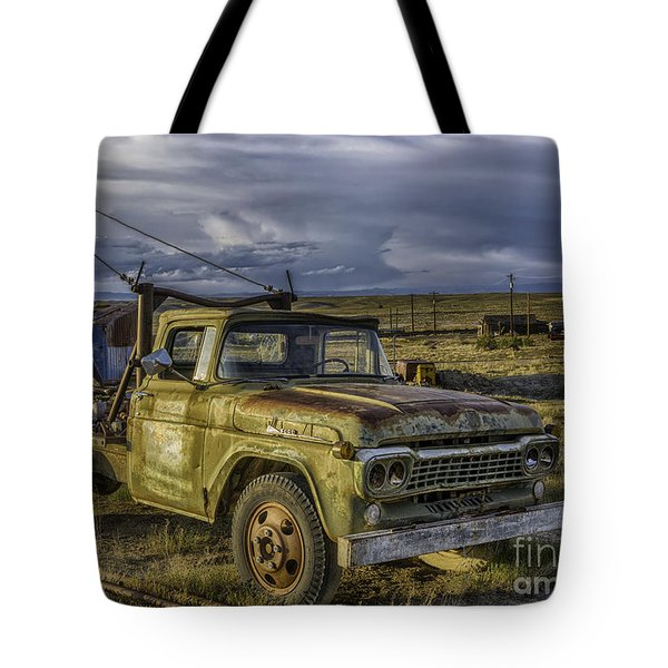 Ford 1958 - F-series Pickup  Tote Bag