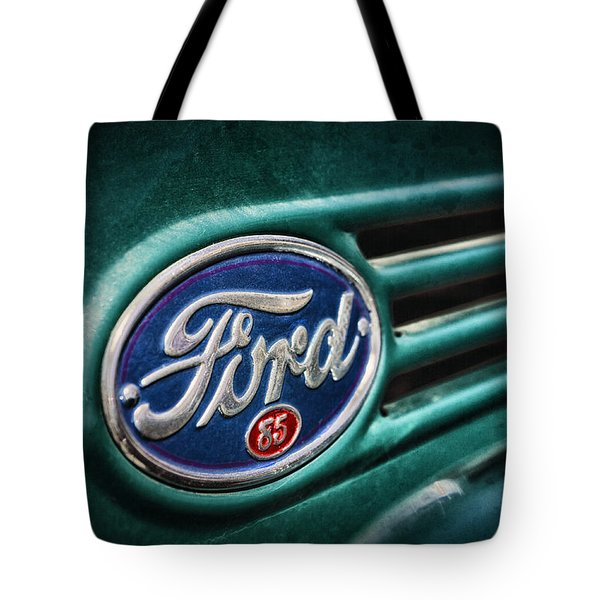 Ford 85 Tote Bag by Caitlyn Grasso